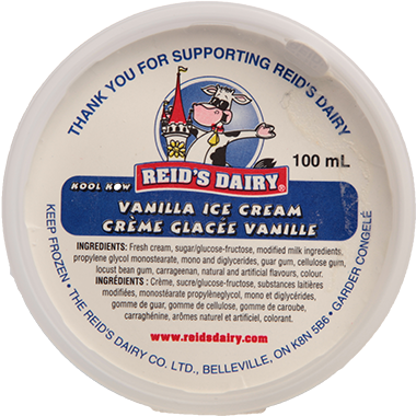 Vanilla Ice Cream Concession
